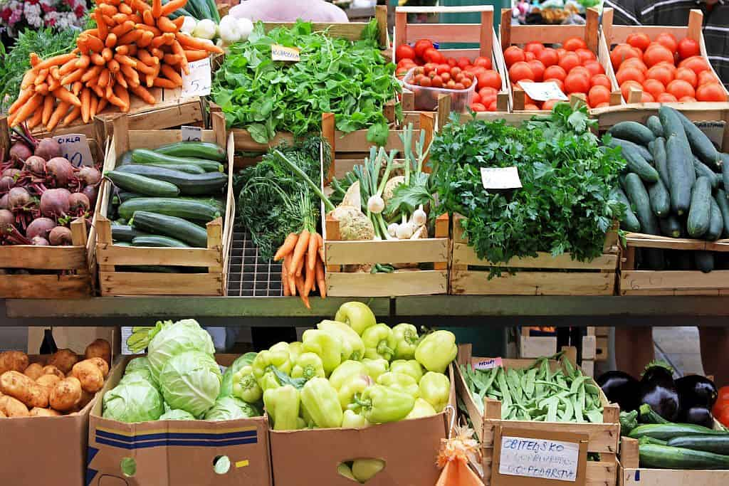 Many different boxed vegetables good for losing weight after 50