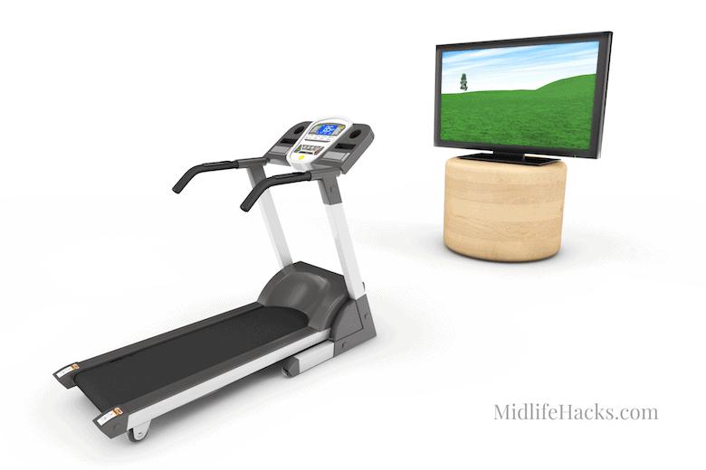 Treadmill & TV