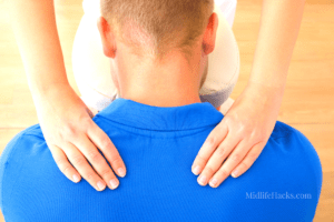 aches & pains at 50 neck rub