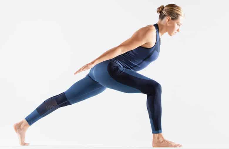 Yoga strength exercises